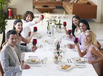 Das perfekte Dinner für Privatkunden